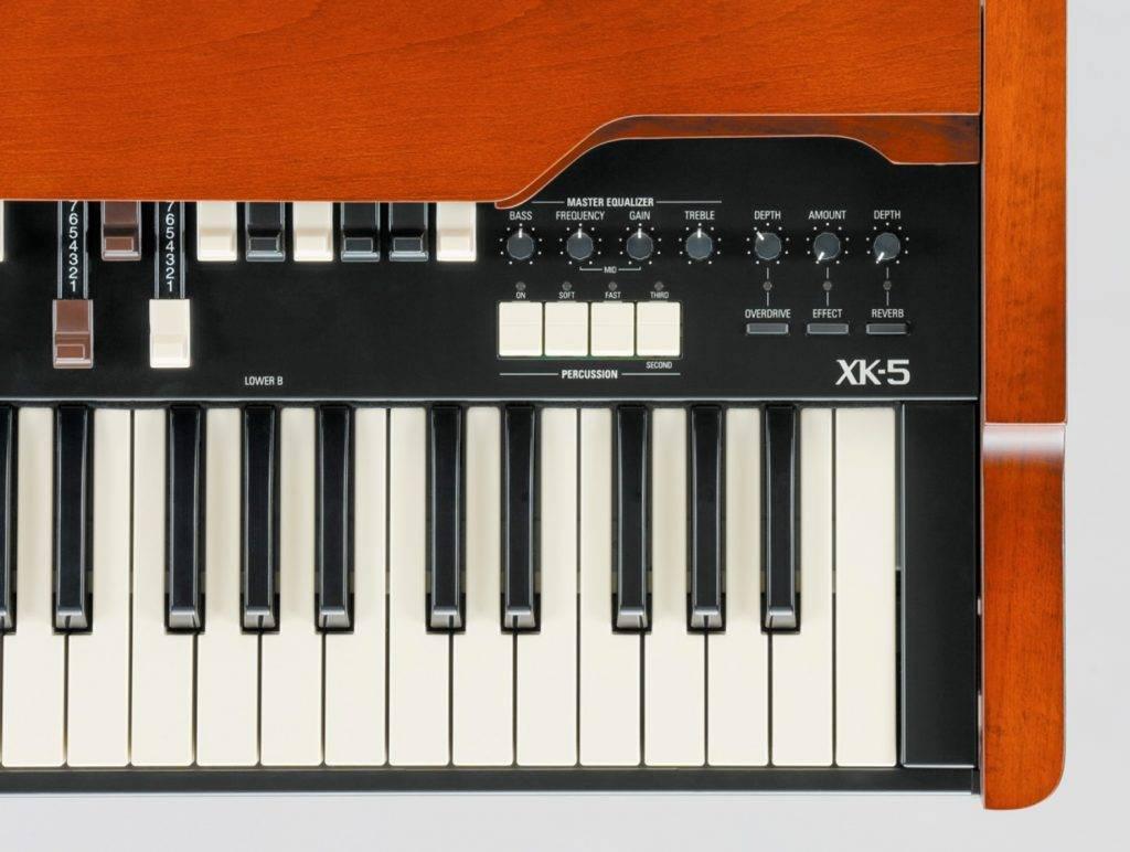 Hammond XK-5 closeup